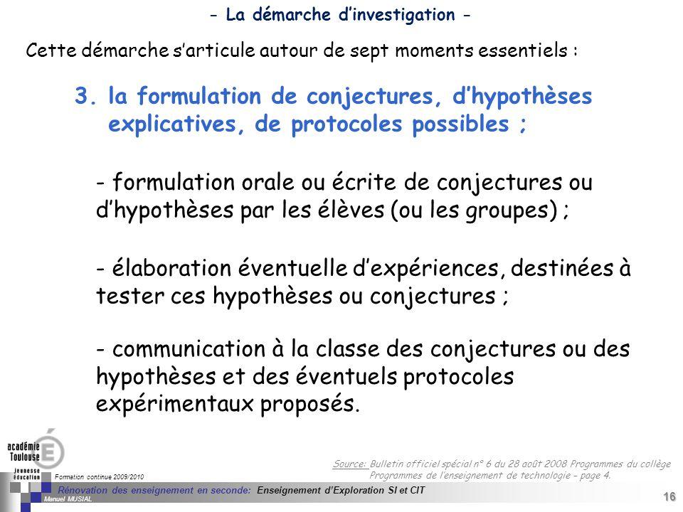 16 Séminaire « Définition de Produits » : méthodologie de définition dune pièce GREC INITIALES Formation continue 2009/2010 16 Rénovation des enseigne