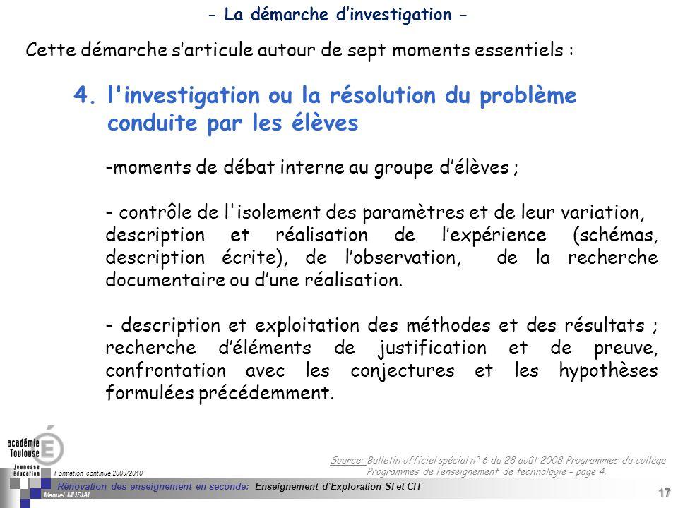 17 Séminaire « Définition de Produits » : méthodologie de définition dune pièce GREC INITIALES Formation continue 2009/2010 17 Rénovation des enseigne