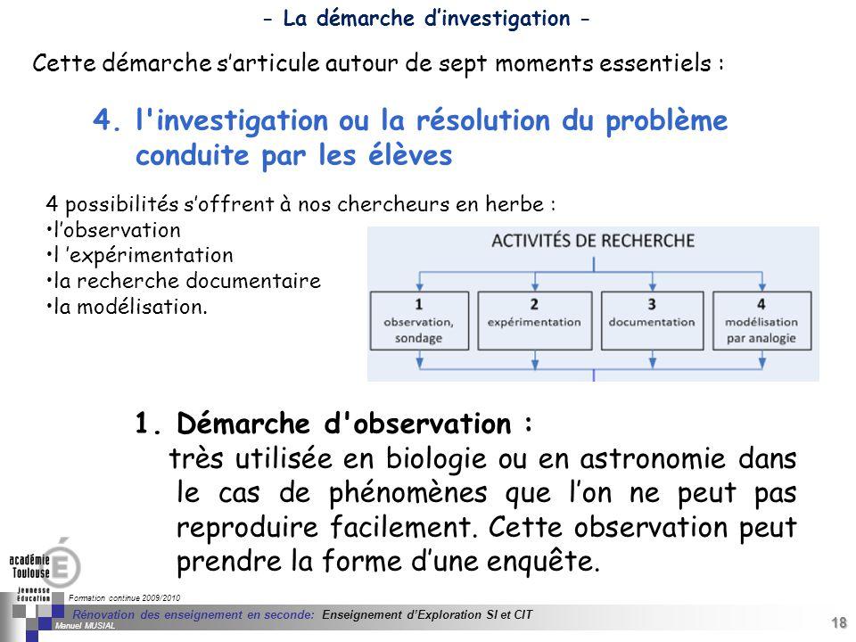 18 Séminaire « Définition de Produits » : méthodologie de définition dune pièce GREC INITIALES Formation continue 2009/2010 18 Rénovation des enseigne