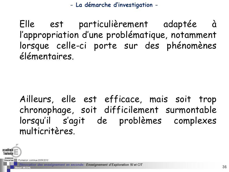 36 Séminaire « Définition de Produits » : méthodologie de définition dune pièce GREC INITIALES Formation continue 2009/2010 36 Rénovation des enseigne