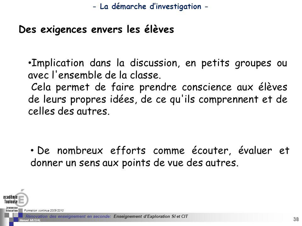 38 Séminaire « Définition de Produits » : méthodologie de définition dune pièce GREC INITIALES Formation continue 2009/2010 38 Rénovation des enseigne