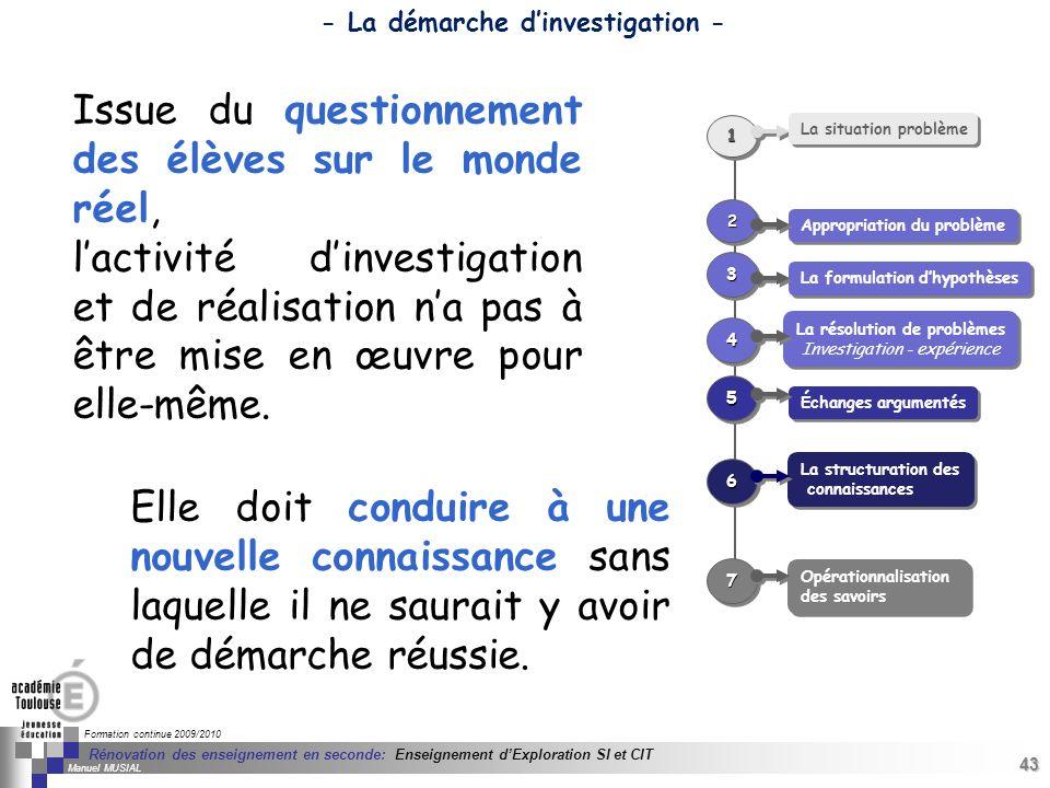 43 Séminaire « Définition de Produits » : méthodologie de définition dune pièce GREC INITIALES Formation continue 2009/2010 43 Rénovation des enseigne