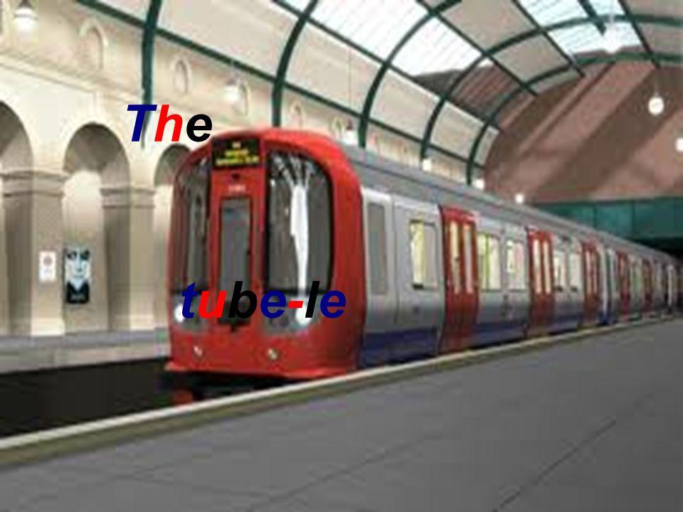 28/01/2014 j The tube-le métro The tube-le métro The tube-le métro