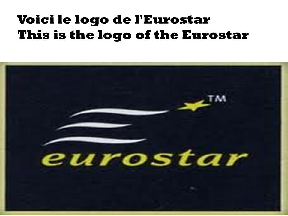 28/01/2014 Voici le logo de l'Eurostar This is the logo of the Eurostar