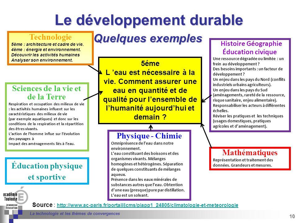 10 Séminaire « Définition de Produits » : méthodologie de définition dune pièce GREC INITIALES 10 La technologie et les thèmes de convergences Source