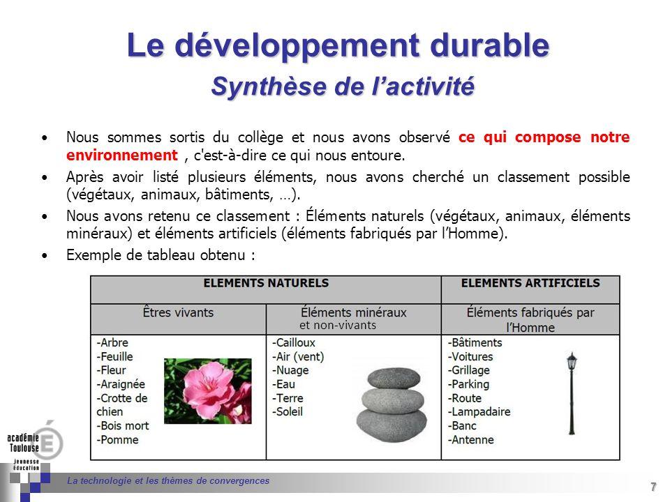 7 Séminaire « Définition de Produits » : méthodologie de définition dune pièce GREC INITIALES 7 La technologie et les thèmes de convergences Nous somm