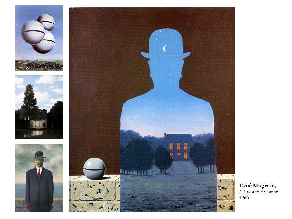 René Magritte, Lheureux donateur 1966