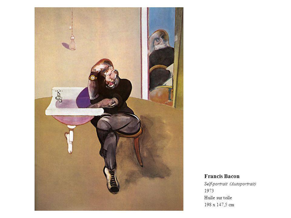 Francis Bacon Self-portrait (Autoportrait) 1973 Huile sur toile 198 x 147,5 cm