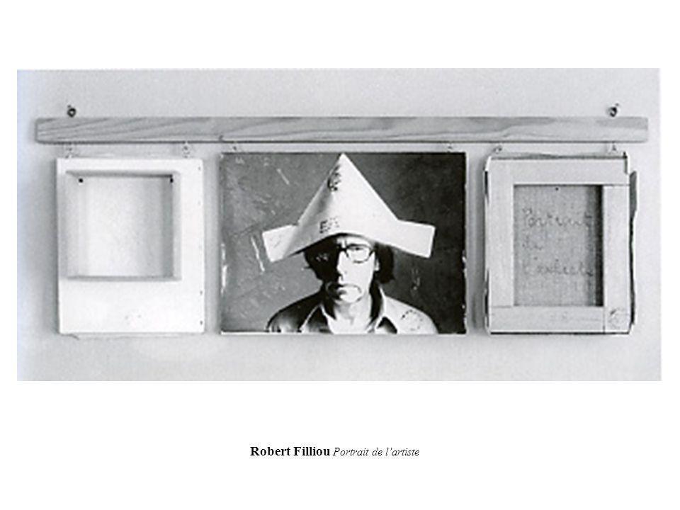 Robert Filliou Portrait de lartiste
