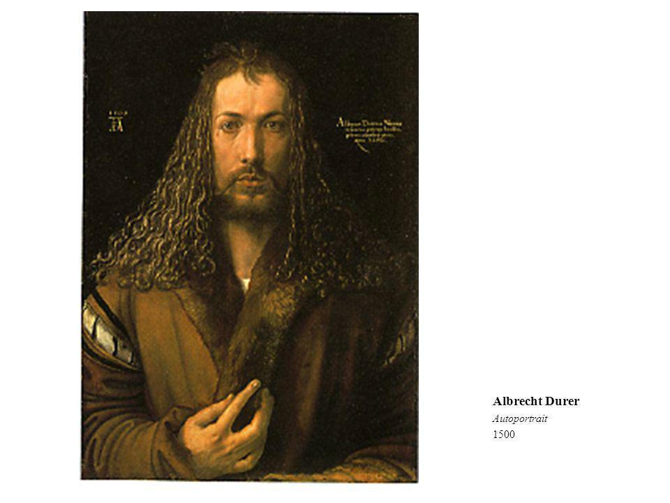 Albrecht Durer Autoportrait 1500