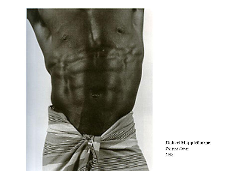 Robert Mapplethorpe Derrick Cross 1983