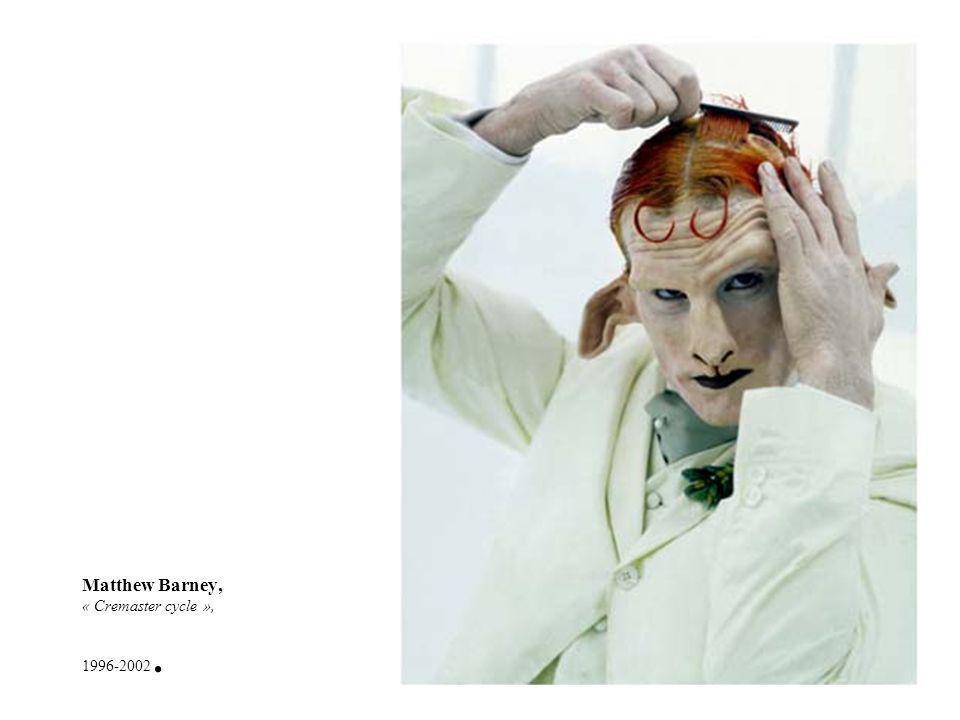 Matthew Barney, « Cremaster cycle », 1996-2002.