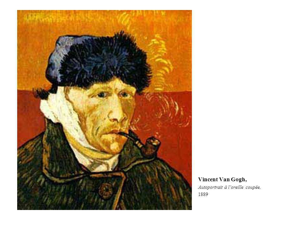 Vincent Van Gogh, Autoportrait à loreille coupée, 1889