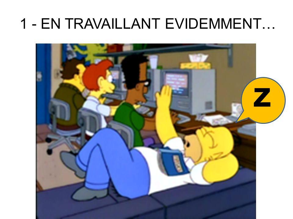 1 - EN TRAVAILLANT EVIDEMMENT… z