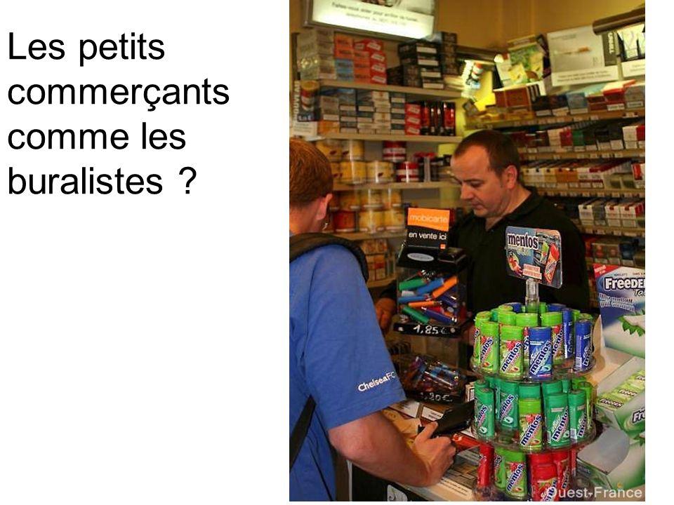 Les petits commerçants comme les buralistes ?