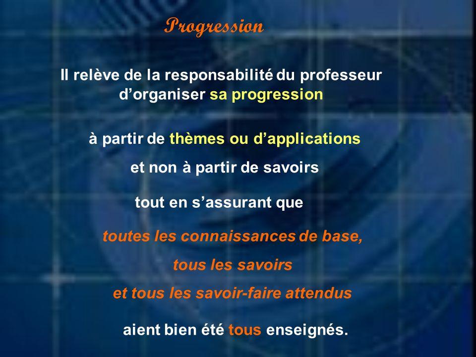 Niveau 2 : niveau de l expression Ce niveau est relatif à l acquisition des moyens d expression et de communication en utilisant le langage de la discipline.