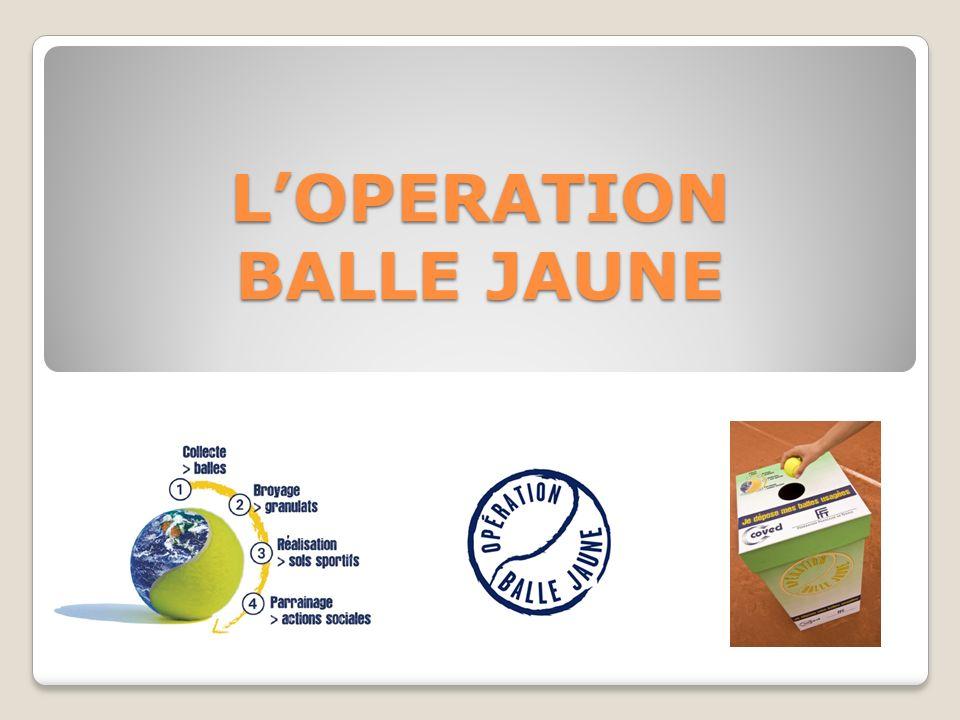 LOPERATION BALLE JAUNE