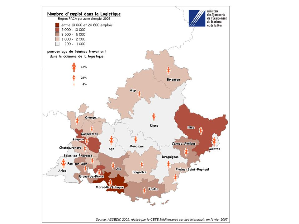 Autres études en cours et articulation Etude sur les rejets atmosphériques sur la plate-forme de Clésud induite par le Plan de Protection de lAtmosphère (à linitiative de lassociation syndicale de Clésud) Etude de recensement des activités logistiques dans les Bouches du Rhône initiée par la DDE dans le cadre du GUT (cahier des charges en cours de finalisation)