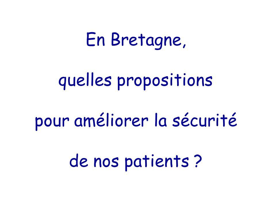 En Bretagne, quelles propositions pour améliorer la sécurité de nos patients ?