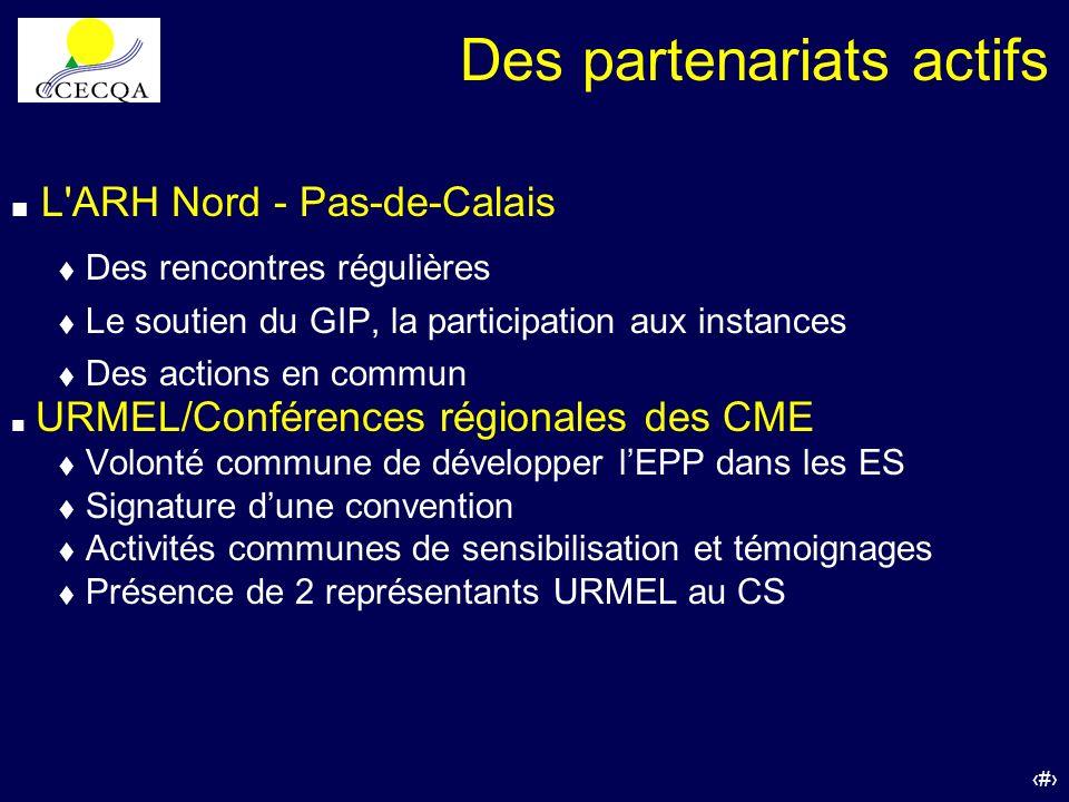 53 L'ARH Nord - Pas-de-Calais Des rencontres régulières t Le soutien du GIP, la participation aux instances t Des actions en commun URMEL/Conférences