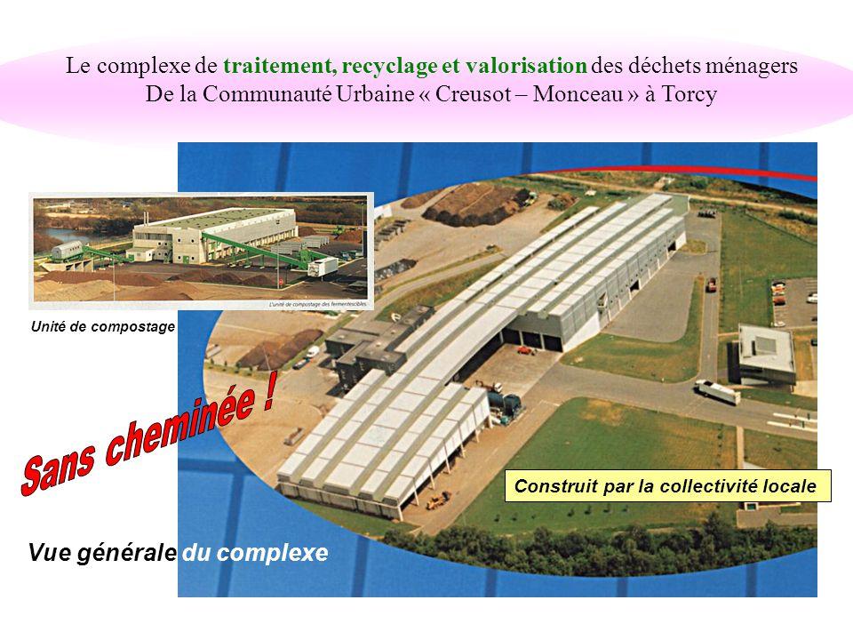 Le bassin de collecte 16 Communes dont : - Montceau les mines - Le Creusot - Montchanin - Etc 100.000 habitants