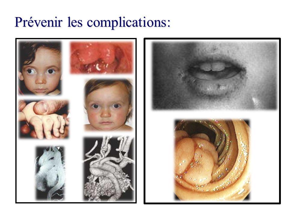 Prévenir les complications: Prévenir les complications: