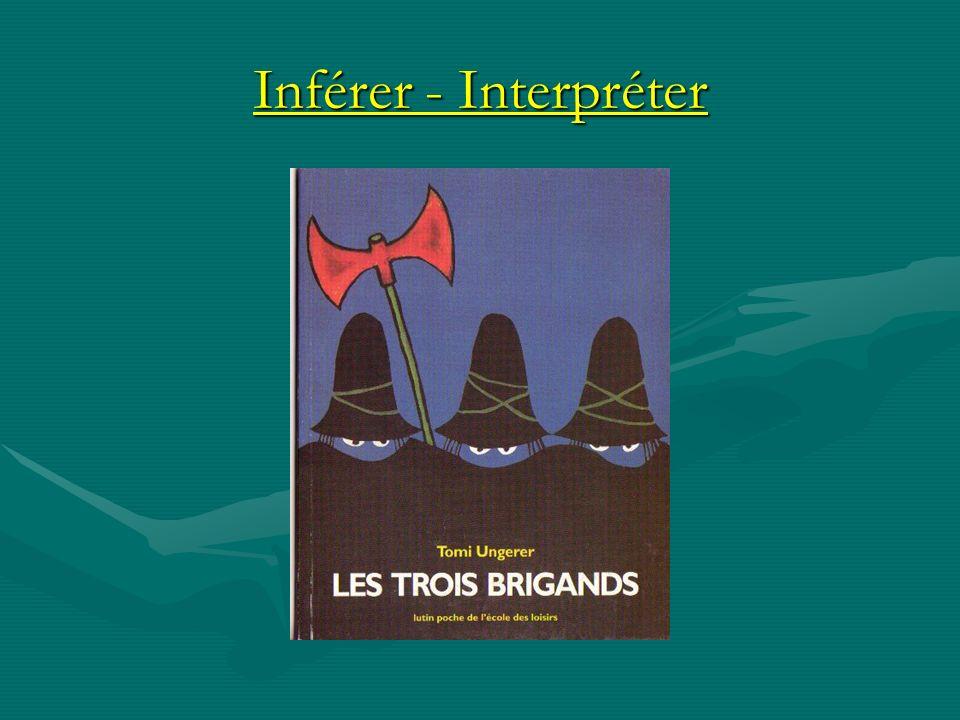 Inférer - Interpréter