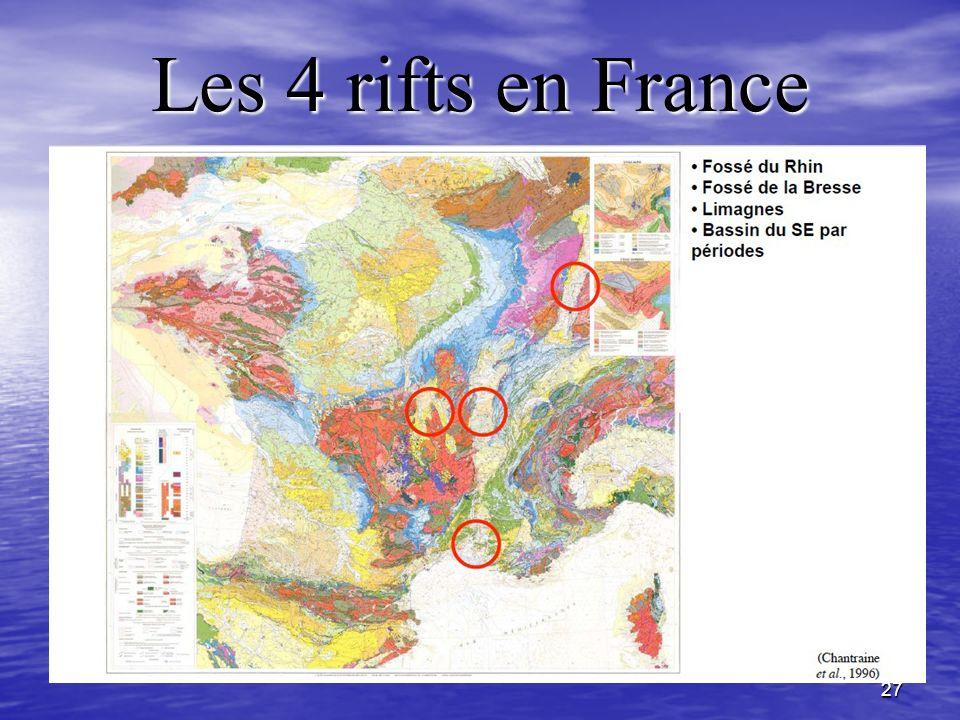27 Les 4 rifts en France
