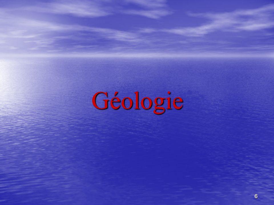 6 Géologie