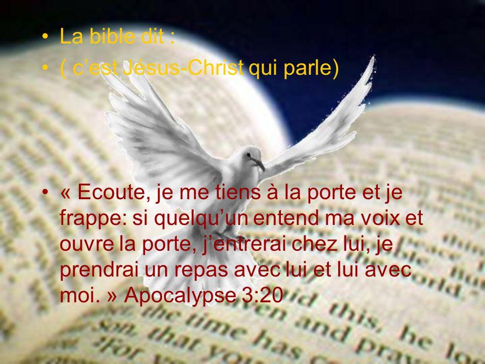Notre réponse Recevoir Jésus-Christ Nous devons croire en Jésus-Christ, le recevoir et lui abandonner toute notre vie.