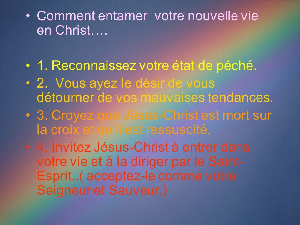 Un nouveau début avec le Christ Avez-vous une objection valable à laisser Jésus-Christ entrer dans votre vie maintenant ?