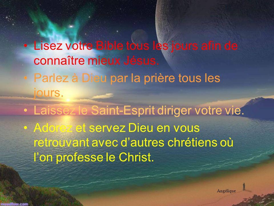 La marche avec Dieu Vous venez dentamer une vie nouvelle en Christ. Pour approfondir votre marche avec Dieu…