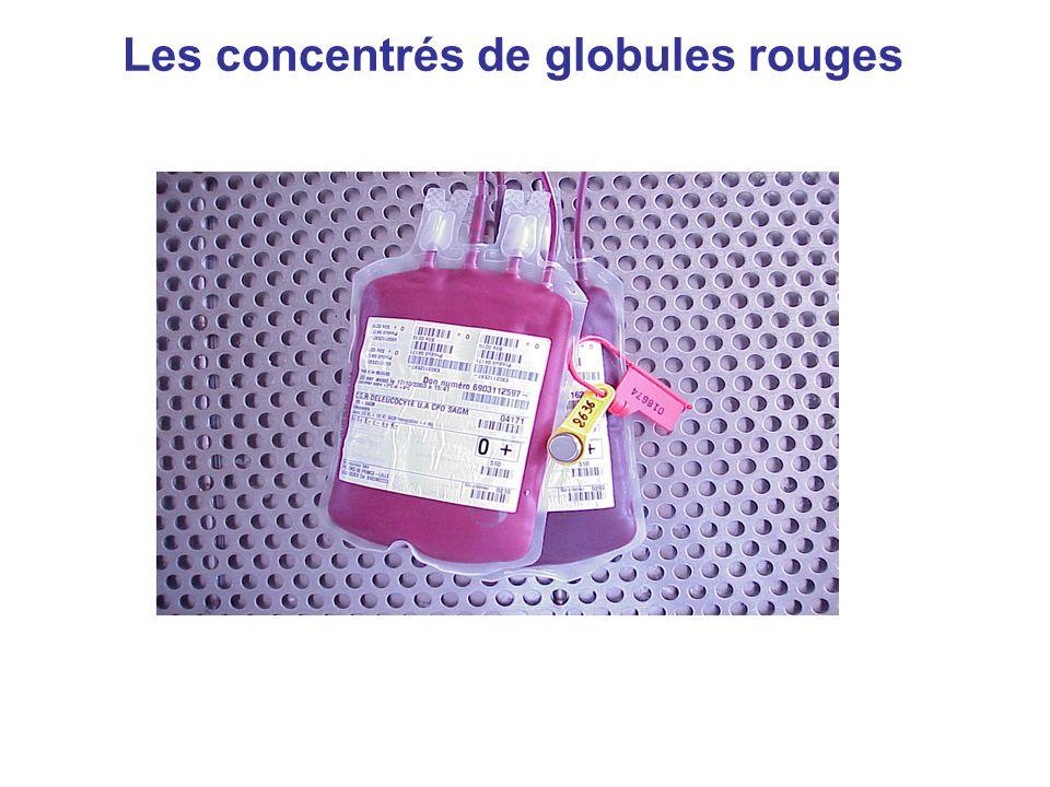 Transfusion en urgence +++organisation Pour la transfusion de CGR: définition de 3 niveaux durgence Niveau durgencedélai de transfusionattente ABORAI Urgence vitale Immédiate0nonnon Urgence vitale <30 minouinon Urgence relative2 à 3 heuresouioui AFSSaPS en 2002,arrêté du 10 septembre 2003, bonnes pratiques de distribution