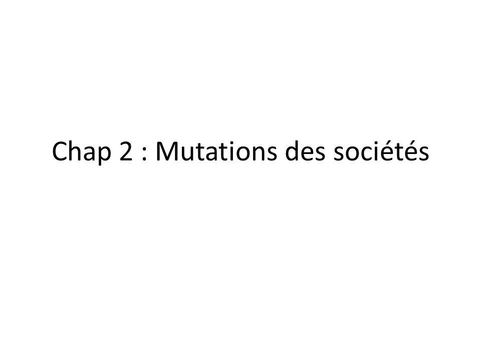I/ La population active, reflet des bouleversements économiques et sociaux Lexemple de la France depuis les années 1850 Une population plus nombreuse Pourquoi .
