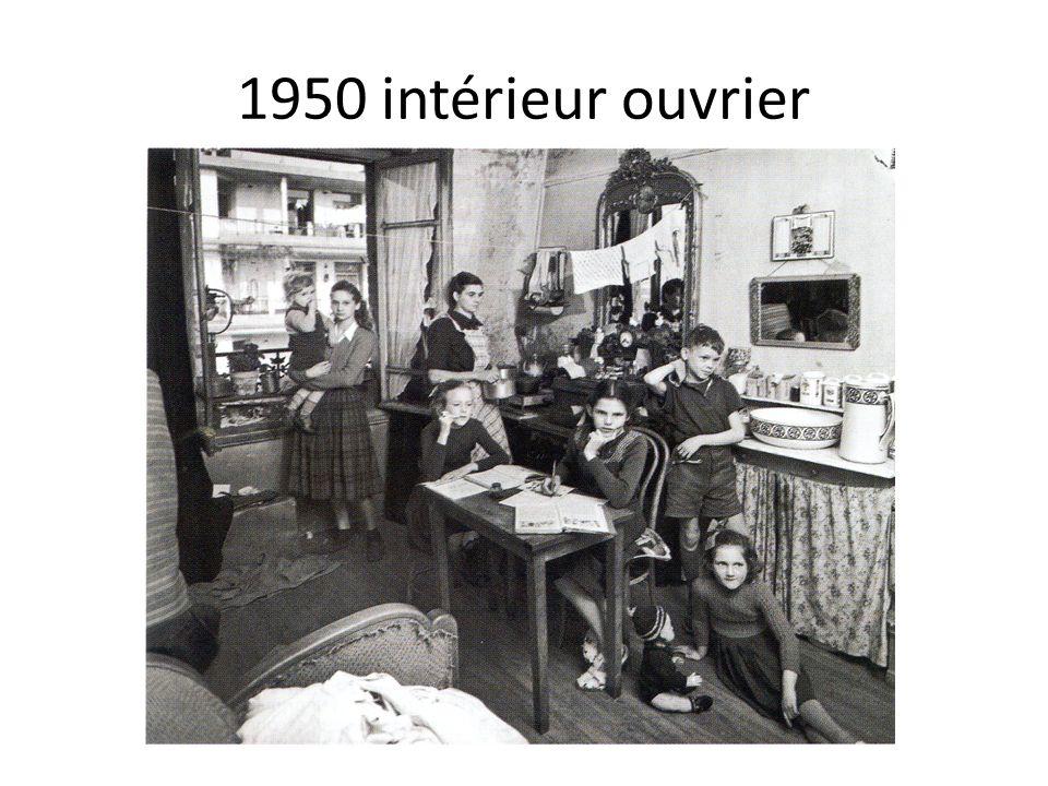 1950 intérieur ouvrier