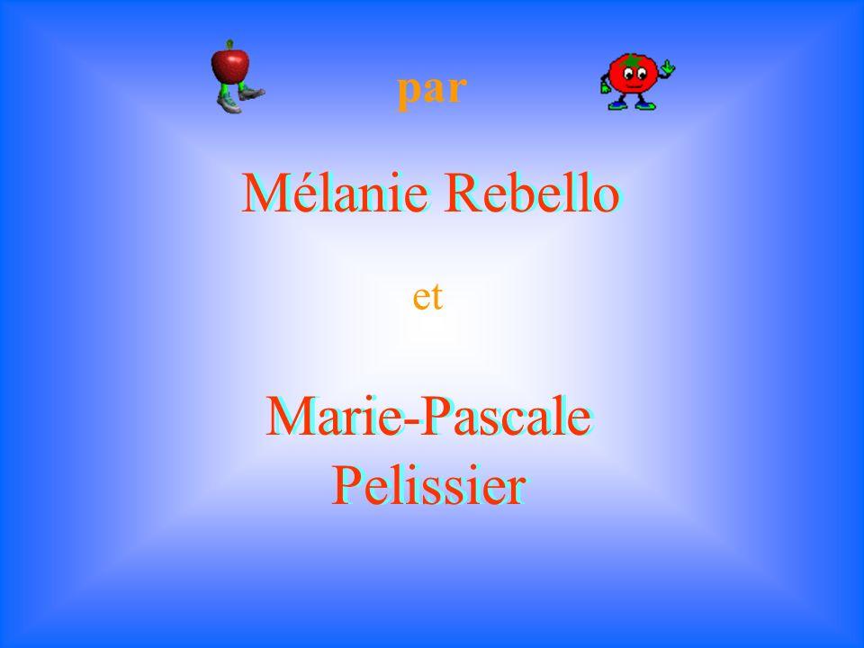 Marie-Pascale Pelissier par Mélanie Rebello et