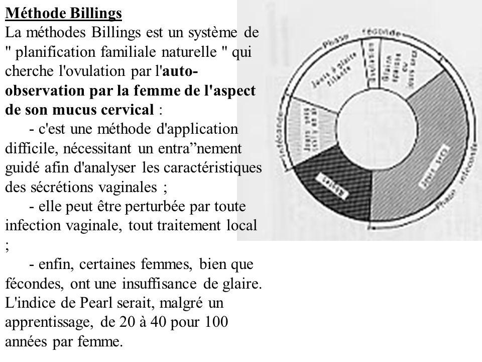 Méthode Billings La méthodes Billings est un système de