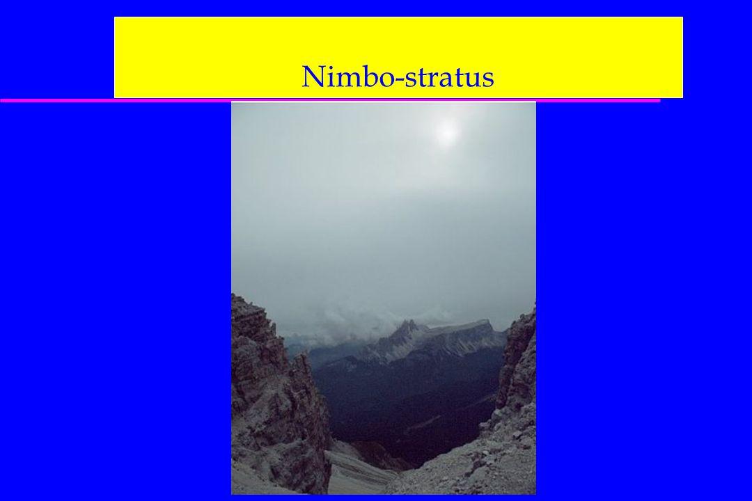 Nimbo-stratus
