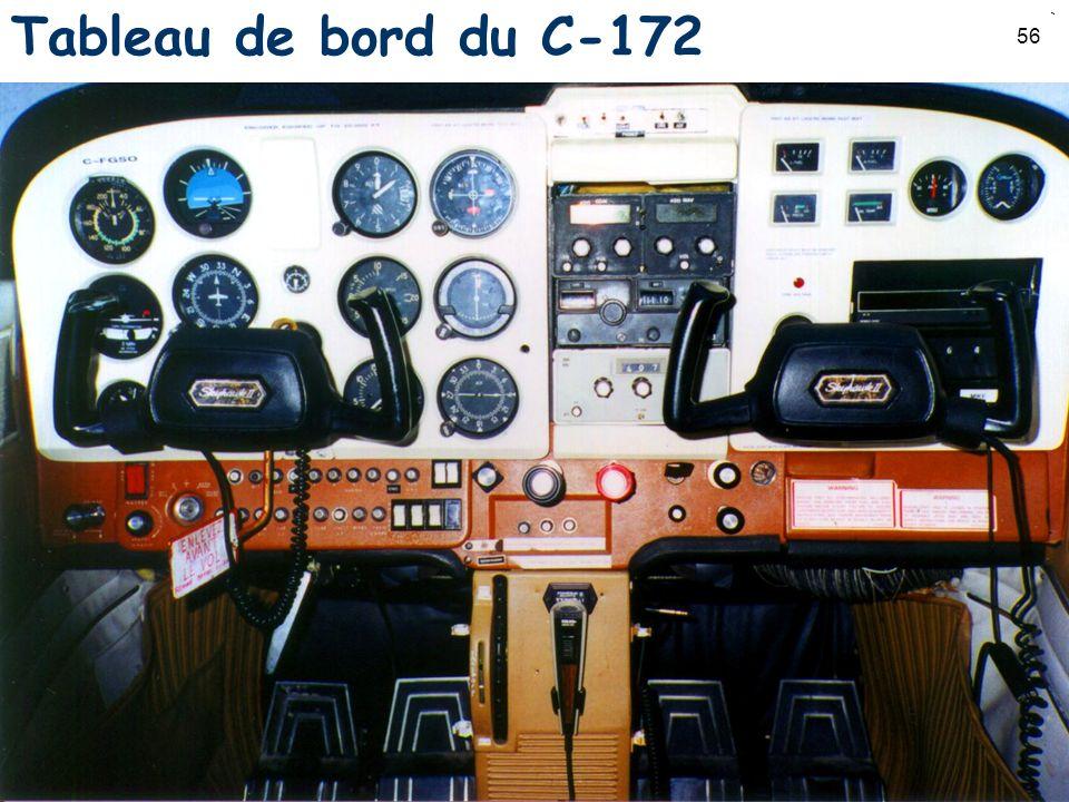 56 Tableau de bord du C-172