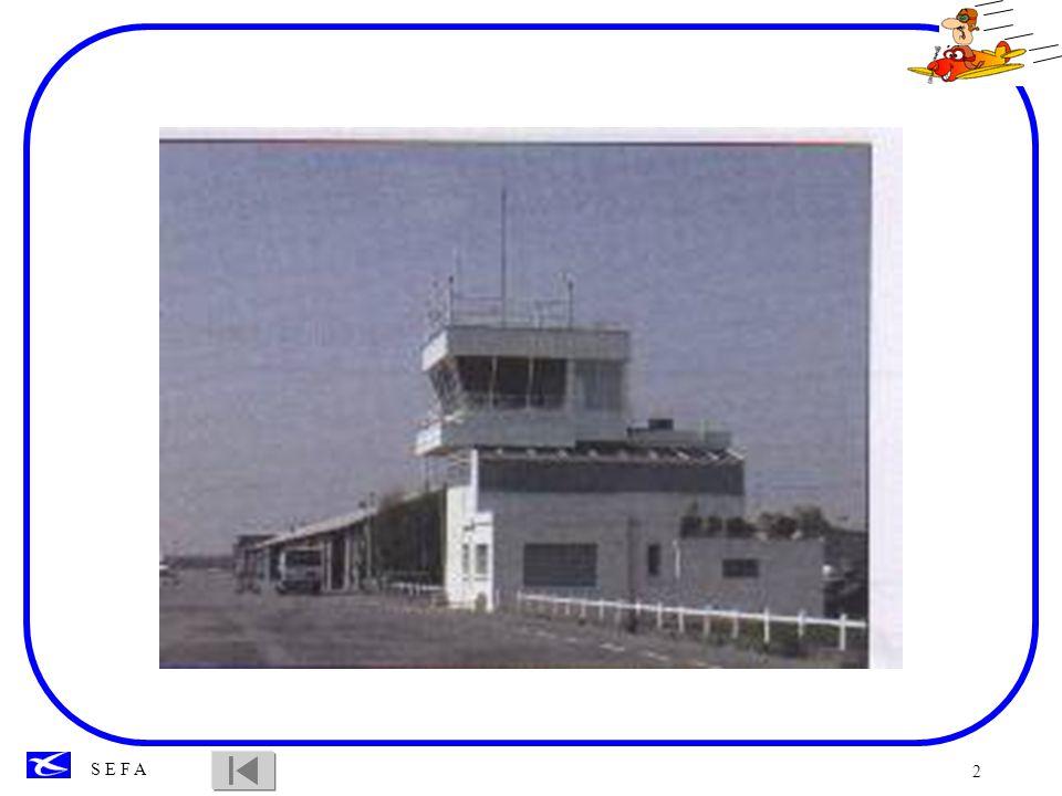 3 Objectif: Connaître les points essentiels relatifs à lutilisation des aérodromes.