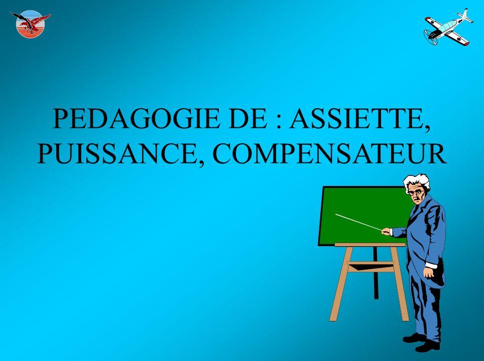 PEDAGOGIE DE : ASSIETTE, PUISSANCE, COMPENSATEUR