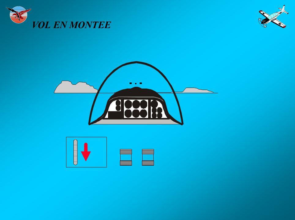 VOL EN MONTEE