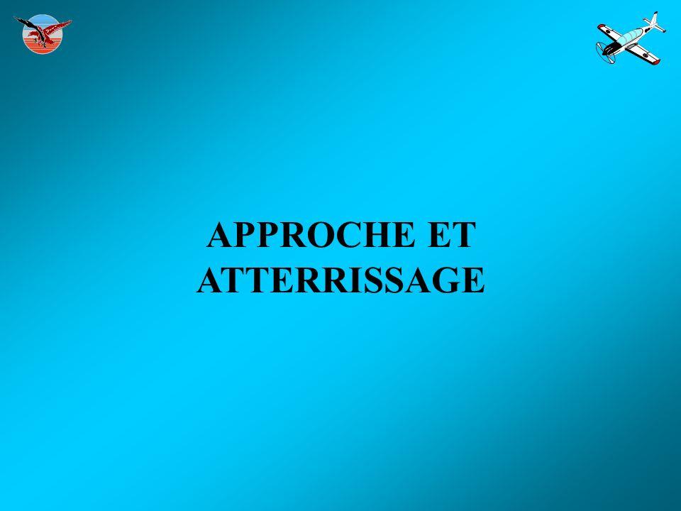 APPROCHE ET ATTERRISSAGE