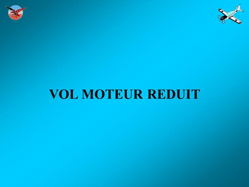 VOL MOTEUR REDUIT