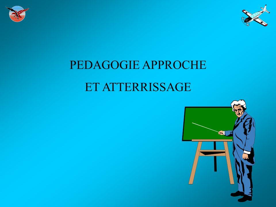 PEDAGOGIE APPROCHE ET ATTERRISSAGE