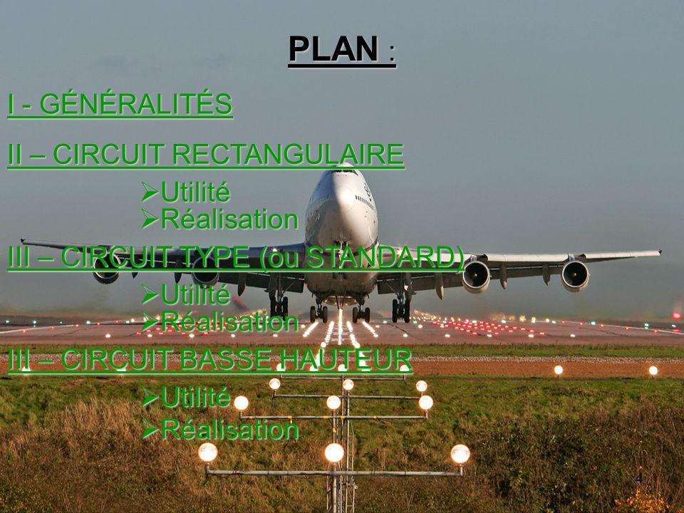 4 PLAN : I - GÉNÉRALITÉS II – CIRCUIT RECTANGULAIRE III – CIRCUIT TYPE (ou STANDARD) Utilité Utilité Réalisation Réalisation Utilité Utilité Réalisati