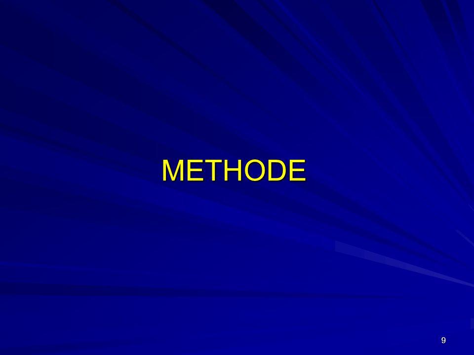 9 METHODE