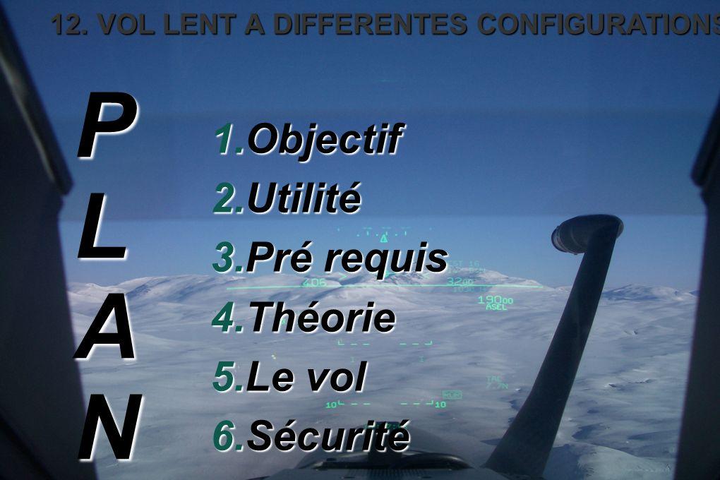 1.Objectif 2.Utilité 3.Pré requis 4.Théorie 5.Le vol 6.Sécurité PLAN