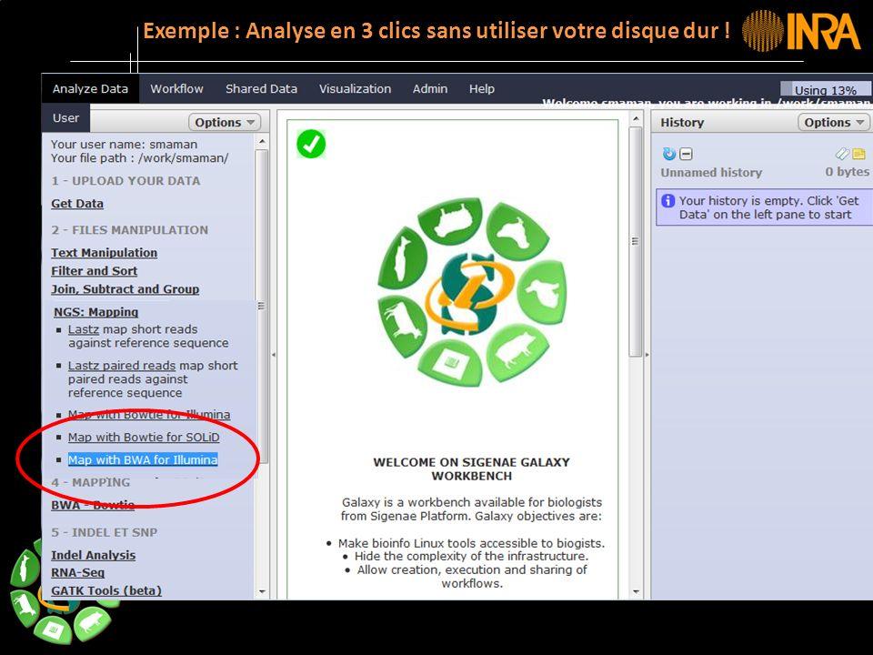 -- 16 -- Exemple : Analyse en 3 clics sans utiliser votre disque dur !
