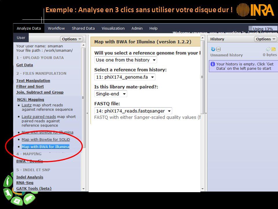 -- 17 -- Exemple : Analyse en 3 clics sans utiliser votre disque dur !